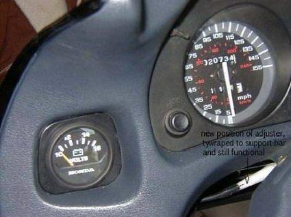 Honda Marine Analog Voltmeter Install ( ST1100 ) **